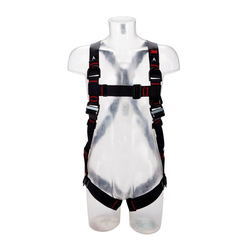 3M Protecta 3-Punkt Auffanggurt Standard mit Schulterösen