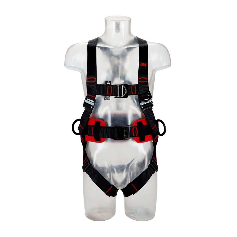 3M Protecta 5-Punkt Auffanggurt Komfort mit Steigschutzöse