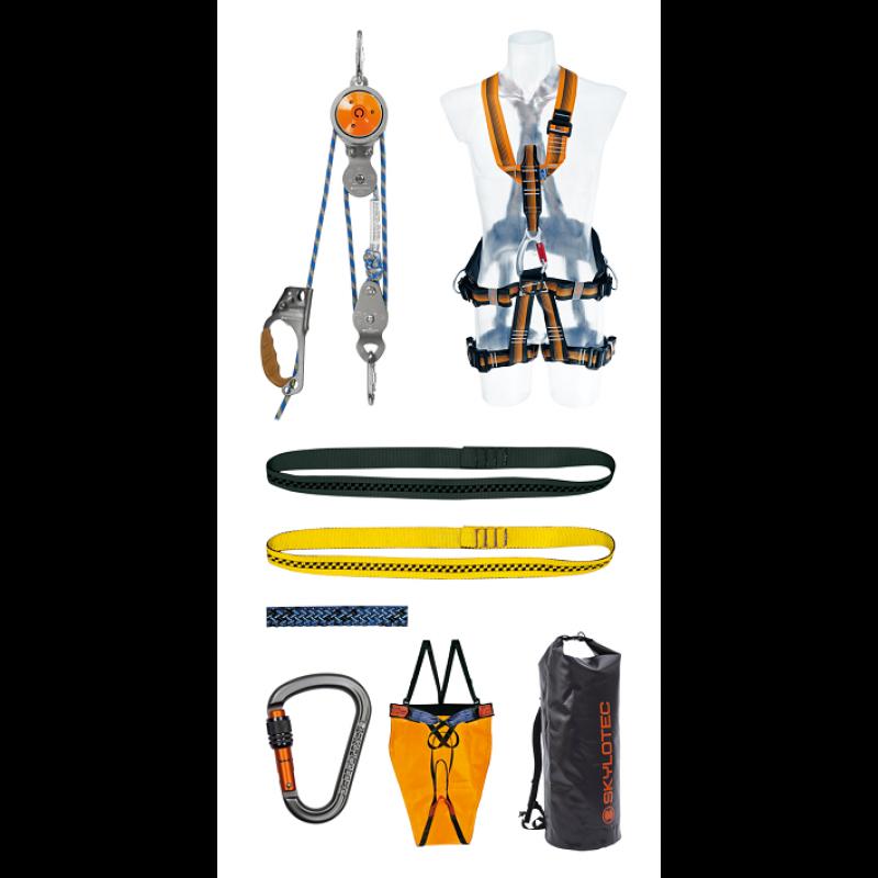 Gerätesatz Absturzsicherung DIN 14 800 - 16 Safety Roll