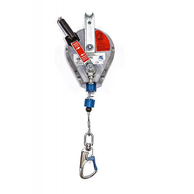 Mittelmann Höhensicherungsgerät HRA mit Rettungshub