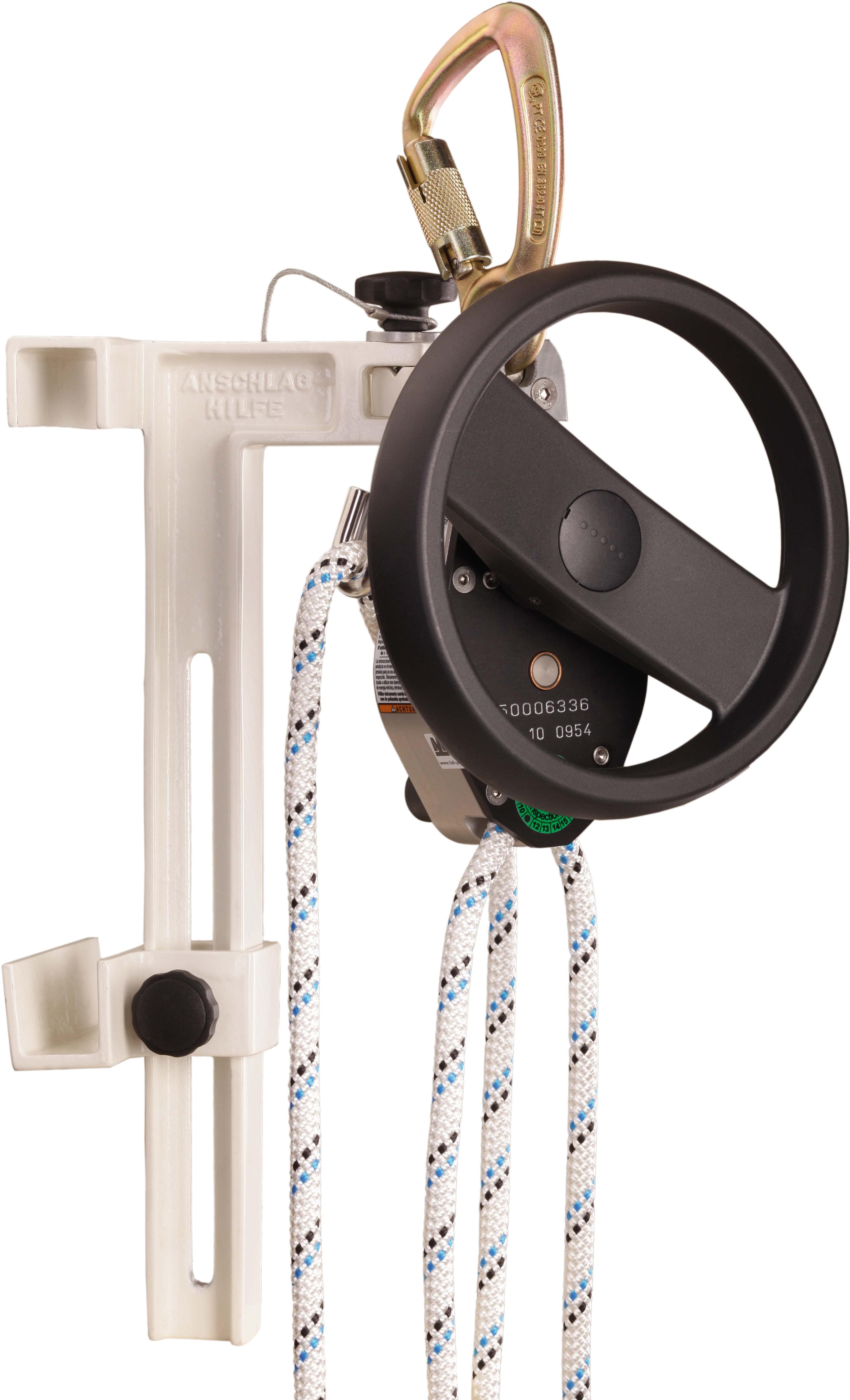 Honeywell Miller SafEscape Elite mit Handrad und Leiteradapter