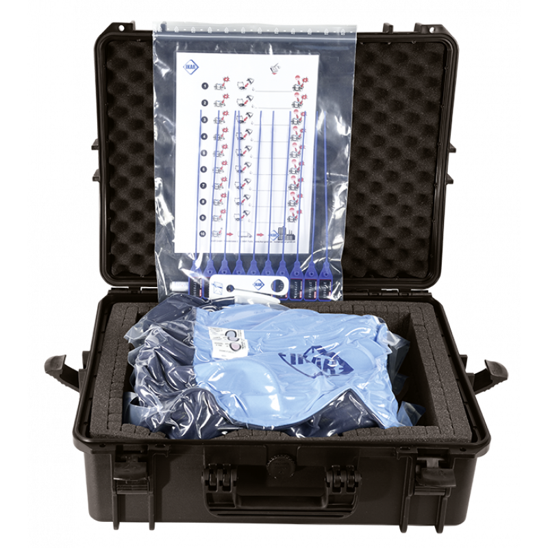 IKAR Vakuum Kofferset für ABS-Rettungsgeräte