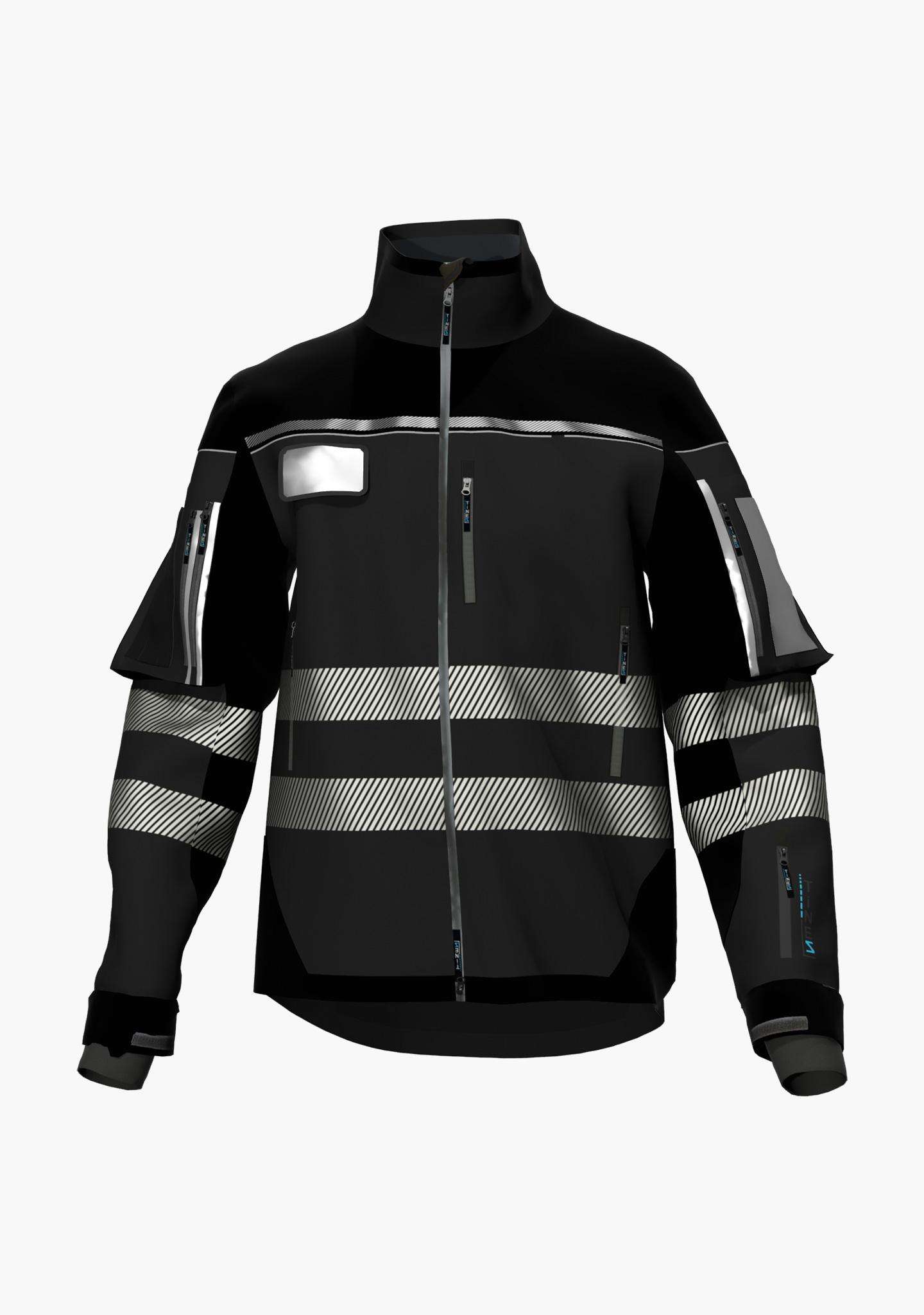 TiNEZ Workwear BELWIND - Softshelljacke