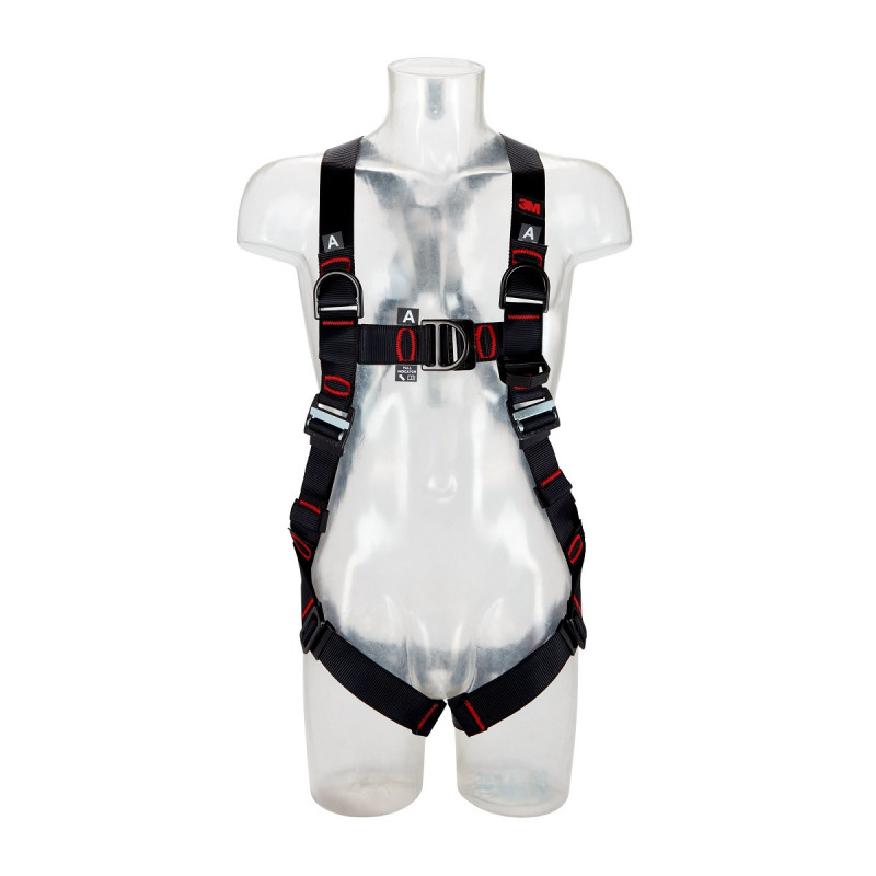 3M Protecta 4-Punkt Auffanggurt Standard mit Schulterösen