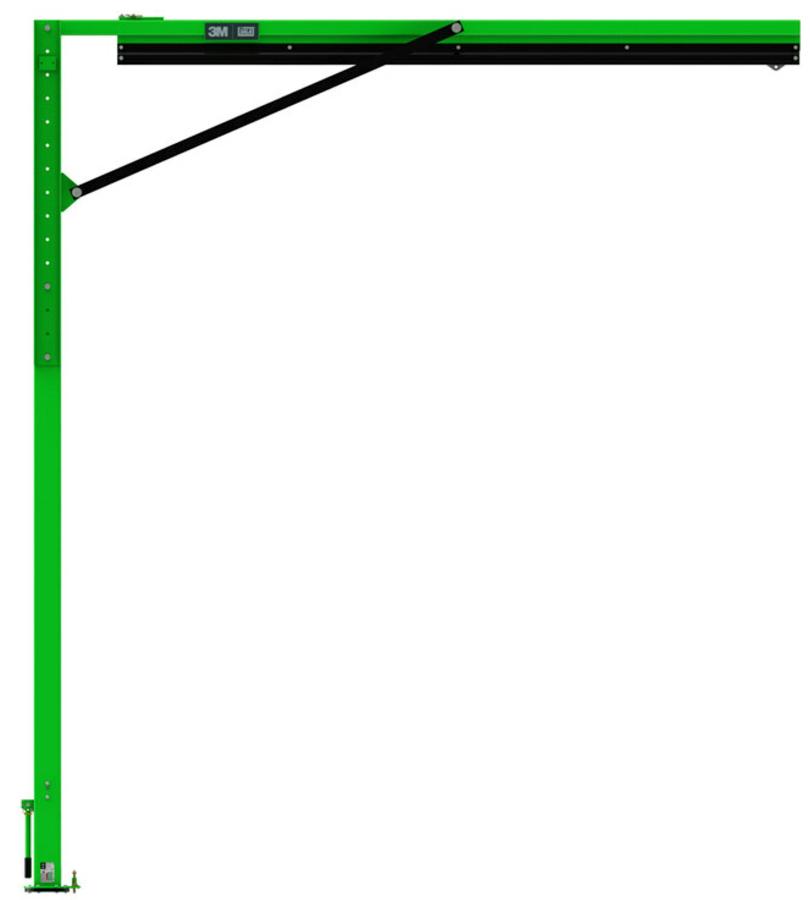 3M DBI-SALA Flexiguard M200 mit vormontierbarer Höheneinstellung