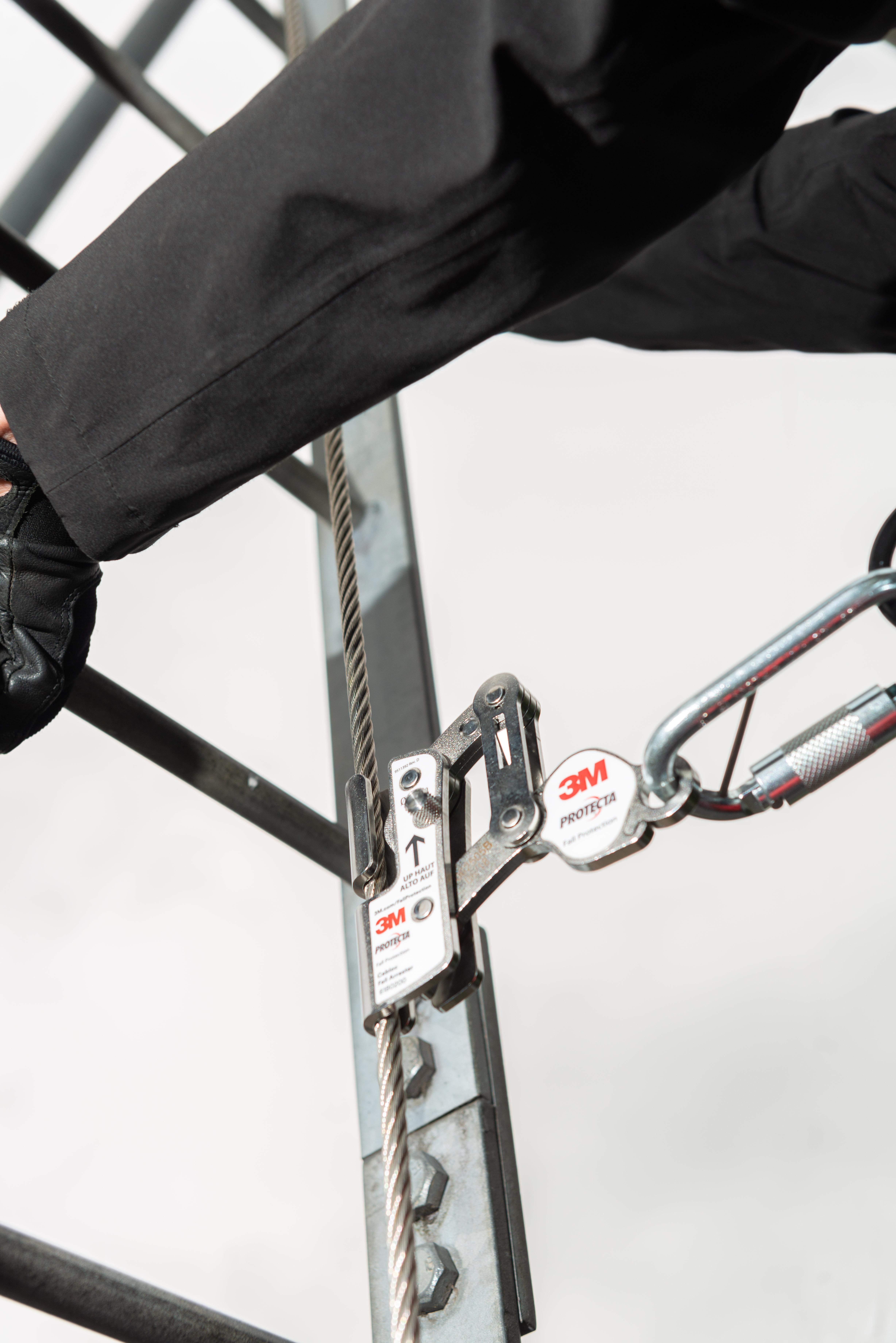 3M PROTECTA Cabloc Steigschutzläufer mit Metallfalldämpfer