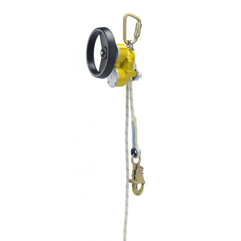 DBI-SALA Rollgliss R550 Abseilgerät mit Rettungskurbel