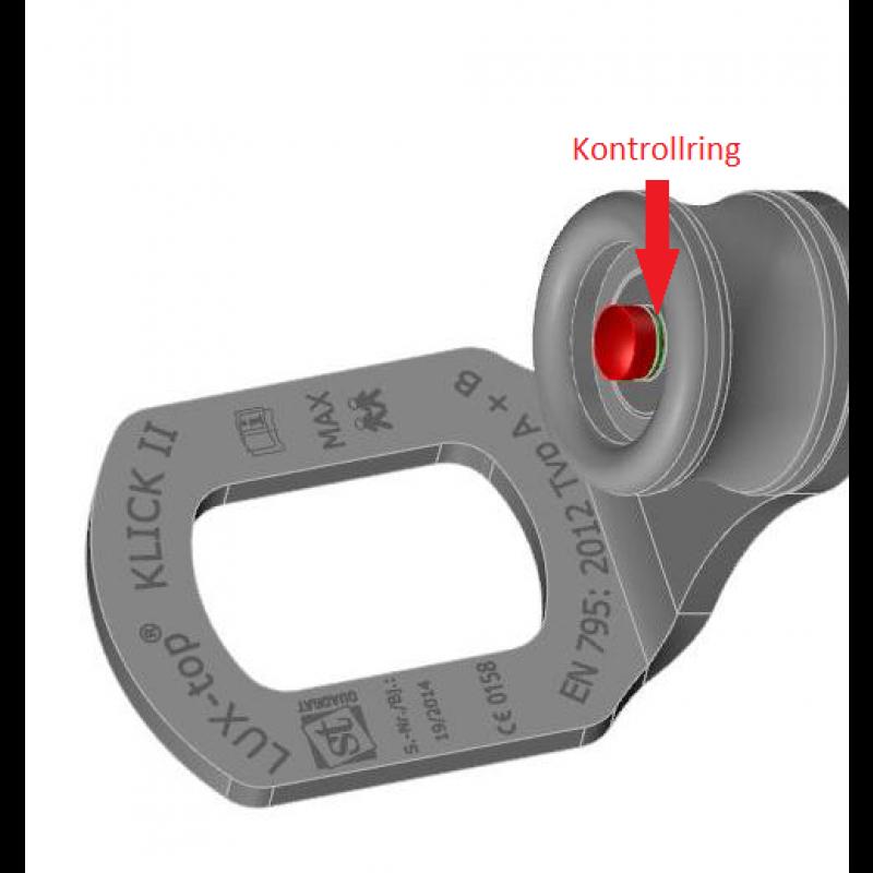 LUX-top KLICK II - Ankerhülse für Beton