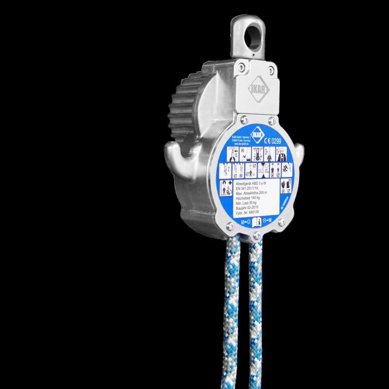 Ikar Abseil- und Rettungsgerät Favorit ABS 3aW