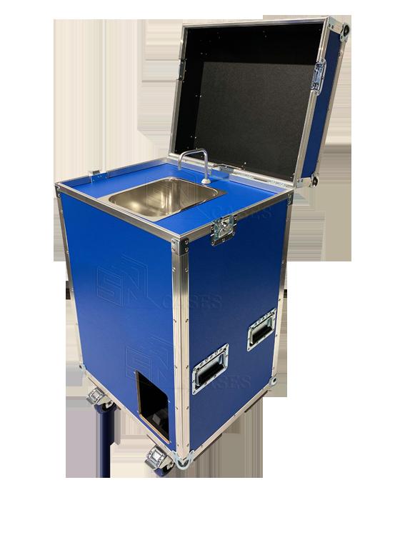 Care Case - Das mobile Handwaschbecken