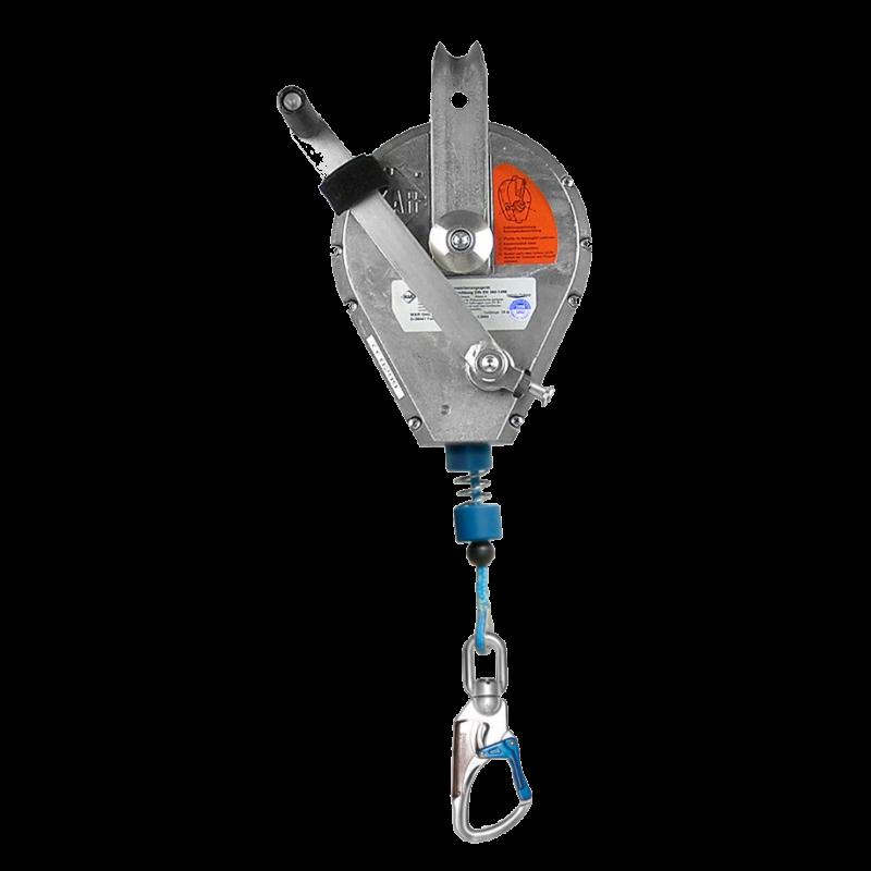 Ikar Höhensicherungsgerät HRA D mit Rettungshubeinrichtung