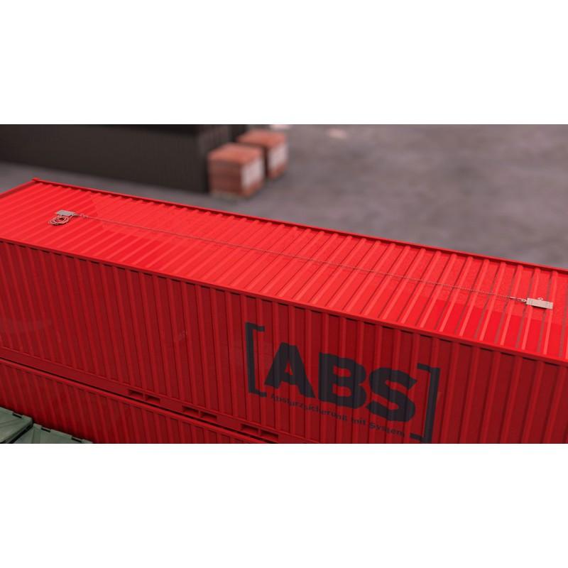 ABS Anschlagpunkt Lock X-FLAT
