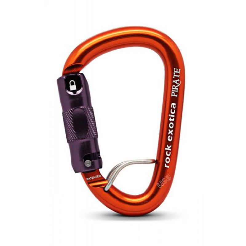 Rock Exotica Karabiner Pirate WireEye Auto-Lock