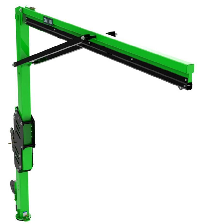 3M DBI-SALA Flexiguard M200 mit frei verstellbarer Höheneinstellung