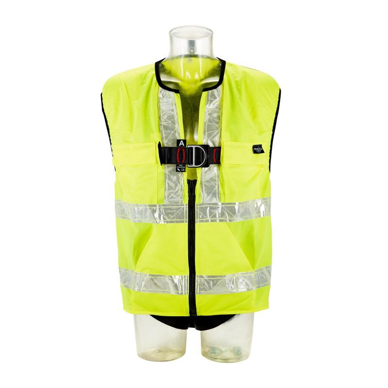 3M Protecta 2-Punkt Auffanggurt Standard mit Warnschutzweste