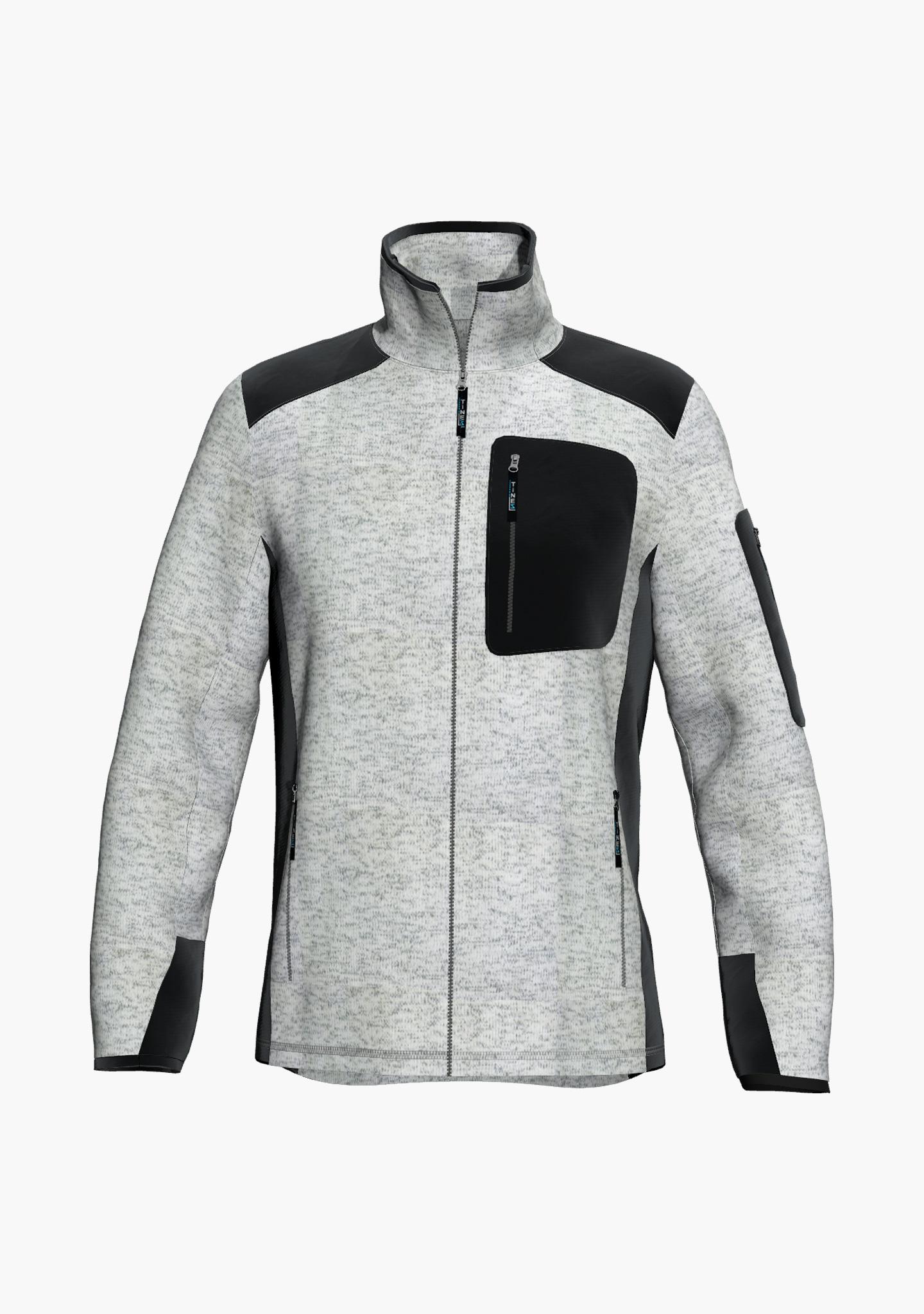 TiNEZ Workwear TAMRA - Strickfleecejacke